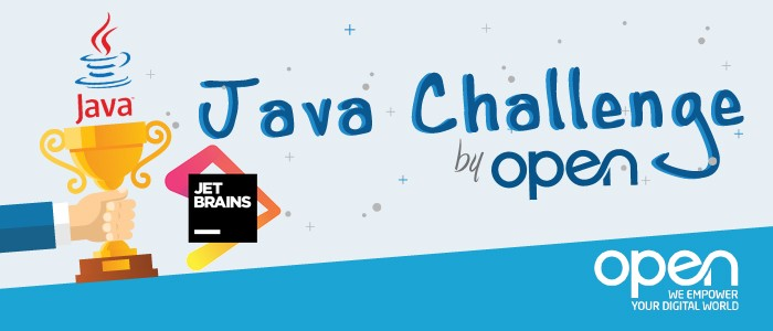 Banner Java Challenge by Groupe Open