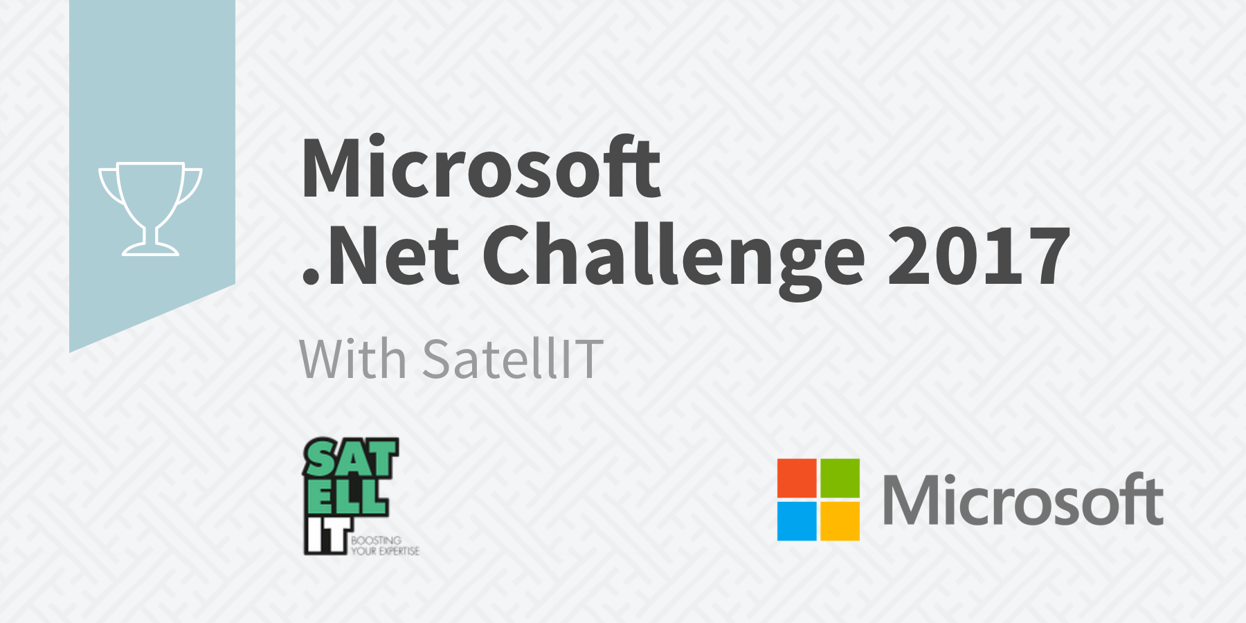 Banner Microsoft .NET Challenge 2017