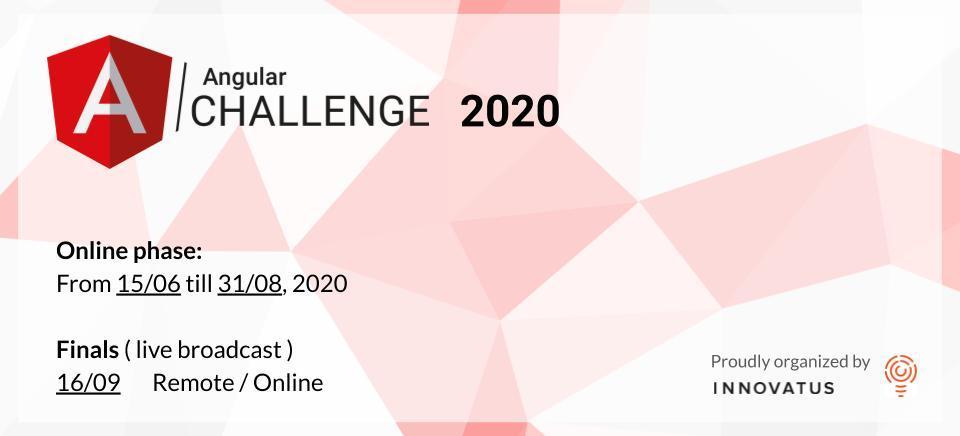 Angular Challenge 2020