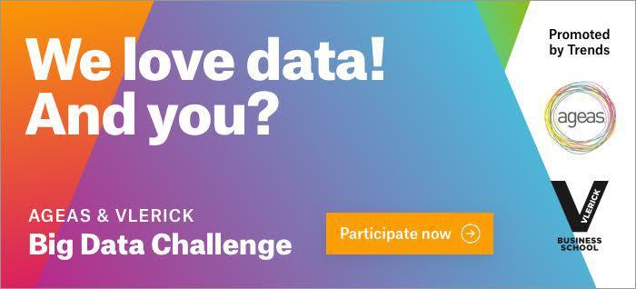 Banner Vlerick & Ageas Big Data Challenge