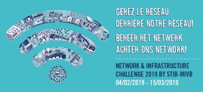 Banner Network & Infrastructure Challenge Belgium 2019