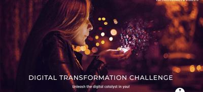Banner Digital Transformation Challenge Belgium 2019