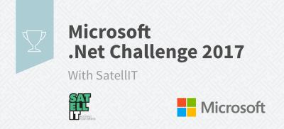 Banner Microsoft .Net Challenge Belgium 2017