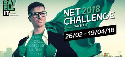 Banner Microsoft .Net Challenge Belgium 2018