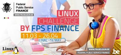 Banner Linux Challenge Belgium 2019