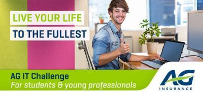 Banner IT Student Challenge Belgium 2018