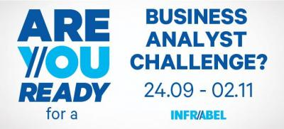 Banner Business Analyst Challenge Belgium 2018