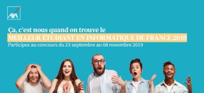 Banner Meilleur étudiant en informatique de France 2019