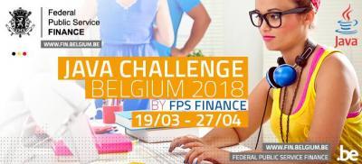 Banner Java Challenge Belgium 2018