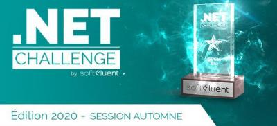 Banner .NET Challenge France 2020 by SoftFluent - Sélection Automne