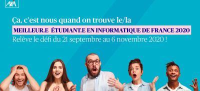 Banner Meilleur.e. étudiant.e. en informatique de France 2020