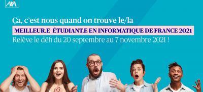 Banner Meilleur.e. étudiant.e. en informatique de France 2021