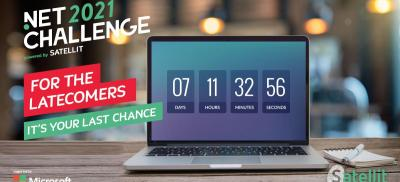 Banner Microsoft .Net Challenge Belgium 2021