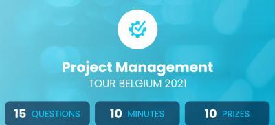 Banner Project Management Tour Belgium 2021